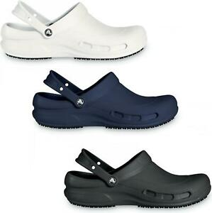 Crocs 10075 BISTRO Unisex Mens Womens Slip On Catering Hospitality Work Clogs