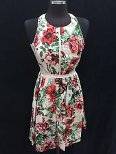 """ADRIANNA PAPELL /SIZE 16/RETAIL$140/ /NORDSTORM DRESS/COTTON STRETCH/LENGTH 39"""""""