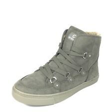 Guess By Guess Otter Womens Size 7 M Dark Green Lace Up High Top Sneakers.