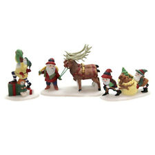 Dept 56 North Pole ~ Santa's Little Helpers ~ Mint In Box 56103