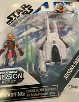 Hasbro Star Wars Mission Fleet AHSOKA TANO Figure & Ship set Disney