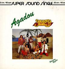 Maxi Single von Saragossa Band - Agadou, Holiday Nights