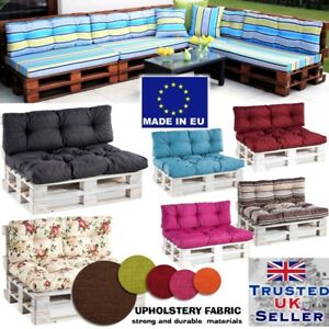 Euro Palette Cushion Pallet Cushions Outdoor Garden Sofa Seat Pad STRONG Fabric
