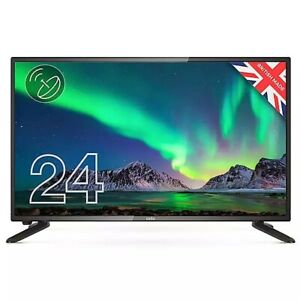 Cello C2420S 24 Inch HD Ready LED Digital TV with Built-in Freeview T2 HD mains