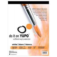 LEGION PAPER 197WH912 YUPO PADS 9X12 74LB WHITE 10 SHEETS