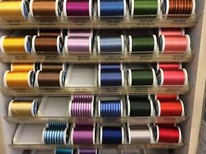 SULKY 40W RAYON EMBROIDERY THREAD-(KING) VARIOUS COLORS-COLLECTION 3