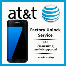 Samsung Galaxy S3 S4 S5 S6 EDGE AT&T FACTORY UNLOCK CODE SERVICE Note 3 4 5 TAB