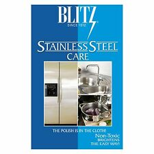 Blitz Stainless Steel Polishing & Cleaning Care Cloth