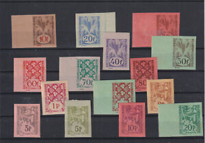 Hungary rejected designs, imperfs, mid 20th century?, all MNH (Y161)