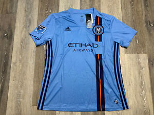 New York City FC 2020 Soccer Jersey Women's Size Large NWT $90