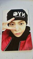 Exo m xiumin exodus official photocard card Kpop K-pop