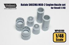 Wolfpack #WP48190 1/48 Rafale SNECMA M88-2 Engine Nozzle set for Revell (resin)