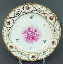 (A0220) Nyon Schweiz Teller mit spielenden Amoretten in purpur Cameau, um 1800