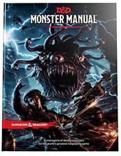 Dungeons & Dragons - Monster Manual - DND Hardcover Wizards RPG Book D&D 5th