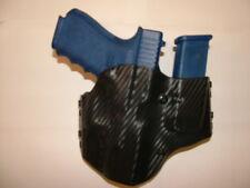 HOLSTER WITH EXTRA MAG BLACK CARBON KYDEX FITS GEN 4 GLOCK 17/22/31 W/TLR-2HL