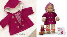 American Girl Bitty Baby 2003 Harvest Toggle Coat applique Teddy Bears Retired