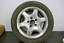 "1 x Genuine Original Mercedes SLK R170 16"" Alloy Wheel Spare with 6.5mm tyre"