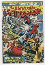 Amazing Spider-Man #125 The Man-Wolf Strikes Again Andru Art Bronze Age Key Fvf