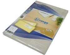 Address Labels 100 Sheet White A4 Sticky Self-Adhesive Inkjet Laser Printer Peel