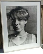 """N.Y. artist Michael Spano """"Gabriela"""" Solarized Photograph Laurence Miller signed"""