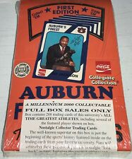 New listing Coca Cola Auburn Collegiate Football Factory Sealed Box Jackson First Edition