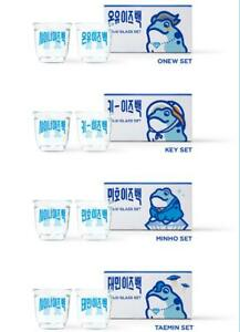 SHINEE X JINRO Special Collaboration MD OFFICIAL SOJU GLASS SET NEW