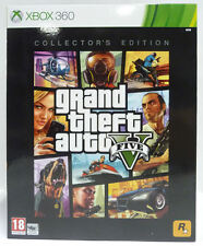 GTA V 5 COLLECTOR'S EDITION XBOX 360 NUOVO SIGILLATO NEW RARE