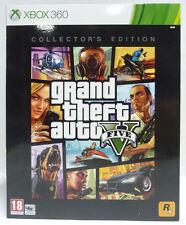 GTA V 5 COLLECTOR'S EDITION XBOX 360 NUOVO SIGILLATO NEW RARE
