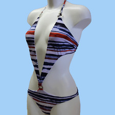 GUESS BY MARCIANO Womens monokini BNWT blue multi colour size 42/Small FE2M85