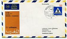 FFC 1971 Lufthansa First Flight LH 508 Munchen Casablanca Maroc