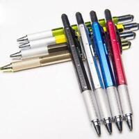 1x Multi-Tool Stifte Multifunktions-Kugelschreiber Level Caliper-Schraubendreher
