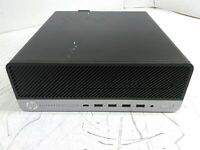 HP EliteDesk 705 G4 SFF Desktop Ryzen 5 Pro 2400G QC 3.6GHz 8GB 0HD Boots