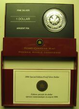 2006 Sp Ed Proof $1 Medal of Bravery .9999 Silver Dollar Canada
