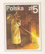 POLAND 1984 MINT Postcard Cp#866 Non-Ferrous Metal Works SZOPIENICE, 150 years