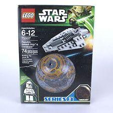 LEGO 75007 Star Wars | REPUBLIC ASSAULT SHIP & CORUSCANT | 2013 | USA Seller