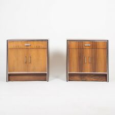Falster Maurice Villency Rosewood Danish Dresser End Tables Bedside Cabinet Pair