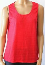 suzannegrae Red Casual Singlet Tank Top Size L BNWT [se11]