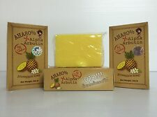Skin Whitening, Pineapple Soap + Alpha Arbutin AHA 80%, White Skin