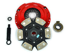 KUPP 6-PUCK RACE CLUTCH KIT for JDM 93-95 HONDA CIVIC COUPE 1.6L B16 DOHC VTEC