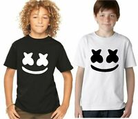 BOYS KIDS  T SHIRT Marshmello T shirt DJ Mellow Dance House Music Tour