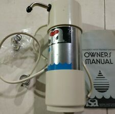 (2) NSA50C BACTERIOSTATIC WATER TREATMENT UNITS/WATER FILTER SYSTEMS
