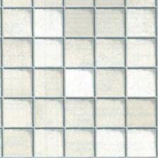 Klebefolie Fliesen Toscana weiß Möbelfolie 45 x 200 cm Dekorfolie selbstklebend