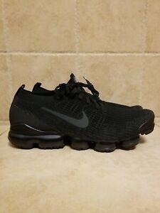 Nike Air Vapormax Flyknit 3 Sneakers Triple Black AJ6900-004 SZ 14