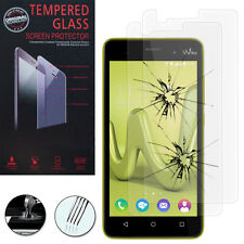 2X Safety Glass for Wiko Lenny 3 Genuine Screen Protector