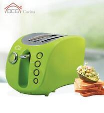 Tostapane Dcg inox elettrico tosta pane fette scaldafette ta8960 verde - Rotex