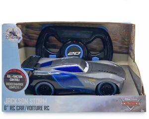 Disney Store Jackson Storm Remote Control Car, Disney Pixar - Cars