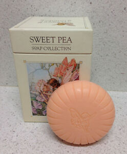 SOMERSET FLOWER FAIRIES SAPONE SWEET PEA 3 X 150 G. SOAP COLLECTION SAVON