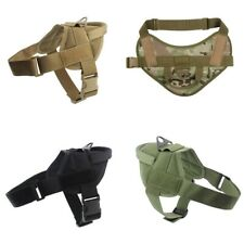 Water-Resistant Training Harness For Service Dog Hunting Military K9 Harness