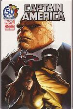 Captain America # 4 * Fantastic Four 50th Anniversary Variant * Near Mint