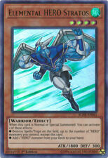 Yugioh Card - Elemental Hero Stratos *Ultra Rare* BLHR-EN061 (NM/M)